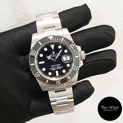Rolex Oyster Perpetual Ceramic Black Submariner Date REF: 116610LN (12)(2)