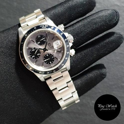 Tudor Discontinued 40mm Prince Date Grey Chrono Watch REF: 79260 (Rolex)(2)