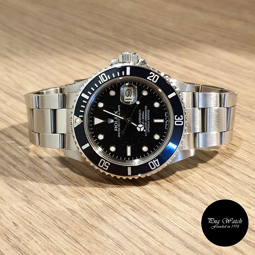 Rolex Oyster Perpetual Date Steel Submariner REF: 16800 (2)