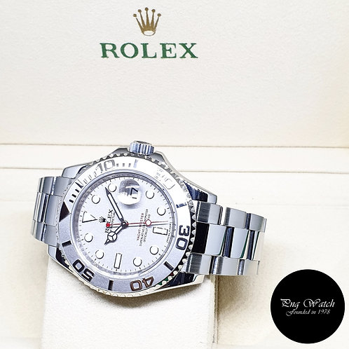 Rolex Oyster Perpetual Date 40mm Platinium Yachtmaster REF: 16622