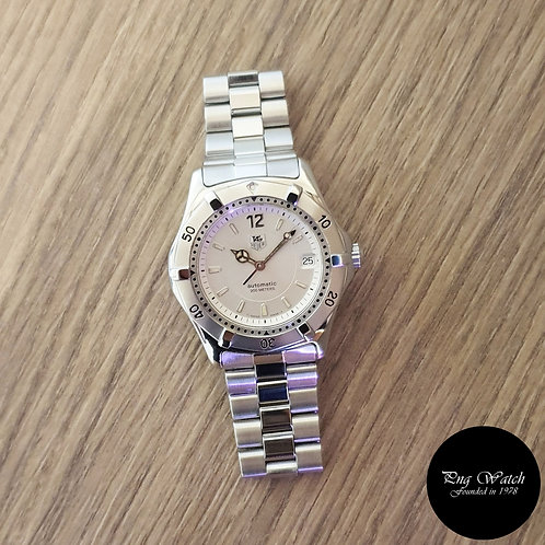 Tag Heuer Silver Automatic Watch REF: WK2116 (2)