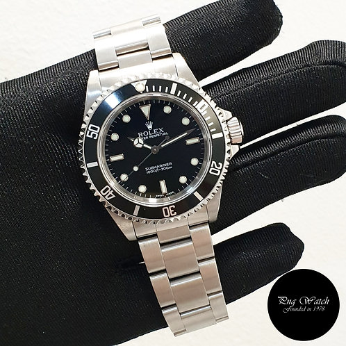 Rolex Oyster Perpetual No Date 2 Liner Black Submariner REF: 14060M (2)