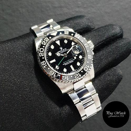 Rolex Oyster Perpetual Ceramic Black GMT Master 2 REF: 116710LN (2)