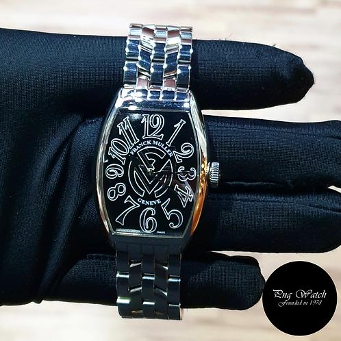 Franck Muller Cìntree Curvex Black Wristwatch (09)(2)
