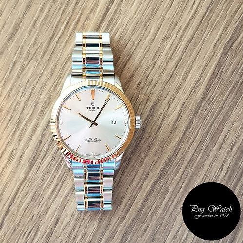 Tudor 41mm Style Diamonds Dress Watch REF: 12713 (2)
