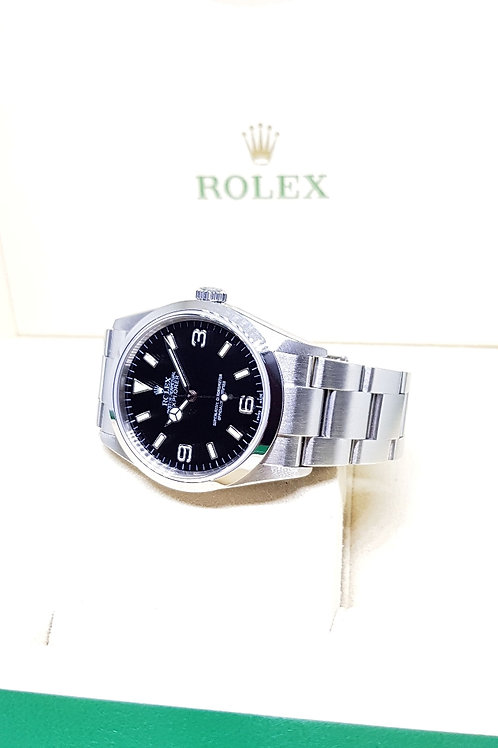 Rolex Oyster Perpetual Black Explorer One REF: 114270