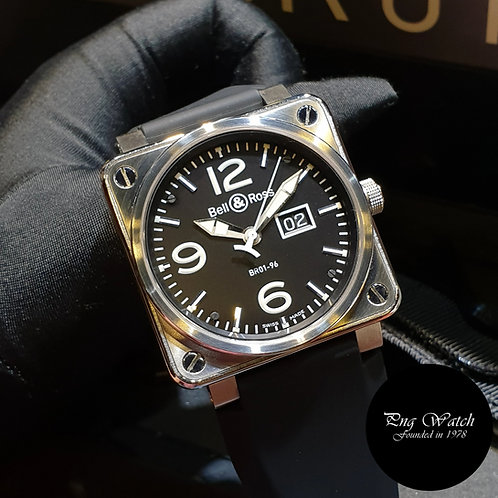 Bell and Ross Steel 46mm BR01-96
