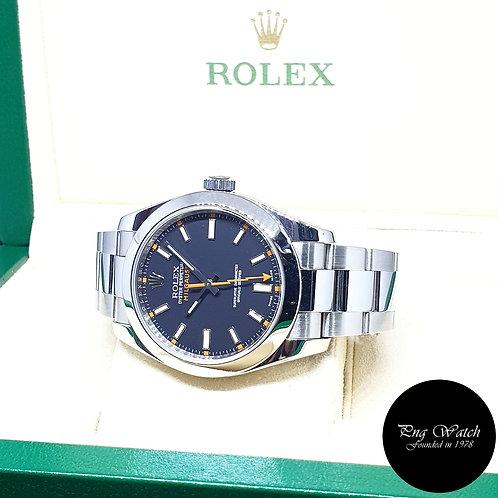 Rolex Oyster Perpetual Black Milgauss REF: 116400