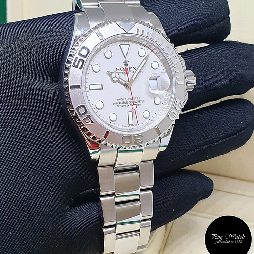 Rolex Oyster Perpetual  40mm Platinum Yachtmaster REF: 16622 (2)