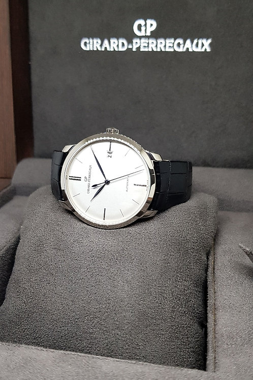 Girard Perregaux 18K White Gold 38mm Classique Dress Watch