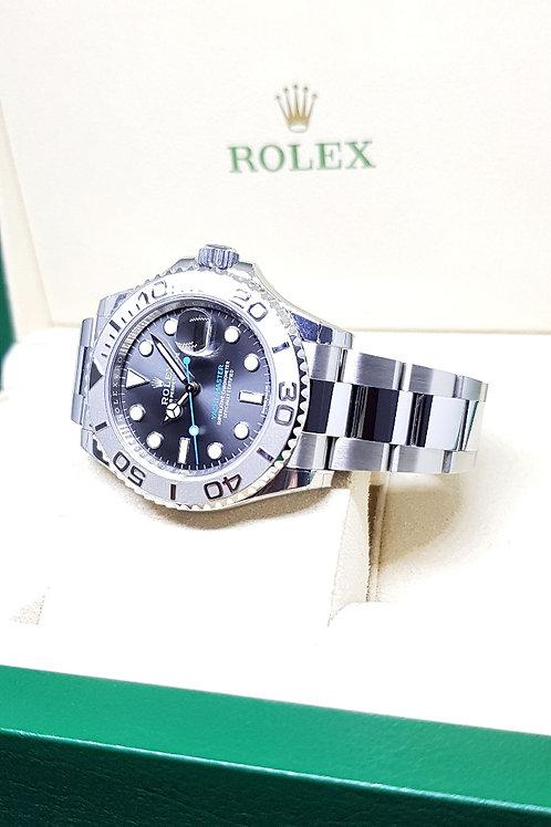 Rolex Oyster Perpetual Dark Rhodium Yachtmaster REF: 116622