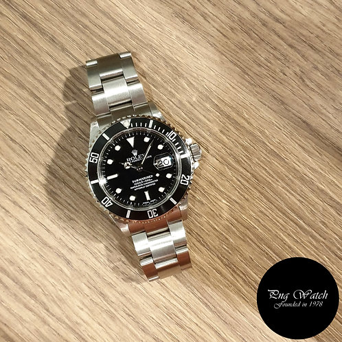 Rolex Oyster Perpetual Submariner Date REF: 16610 (2)