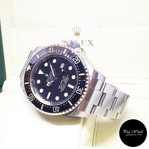 "Rolex Oyster Perpetual Black Sea Dweller ""DEEPSEA"" REF: 116660 (V Series)"