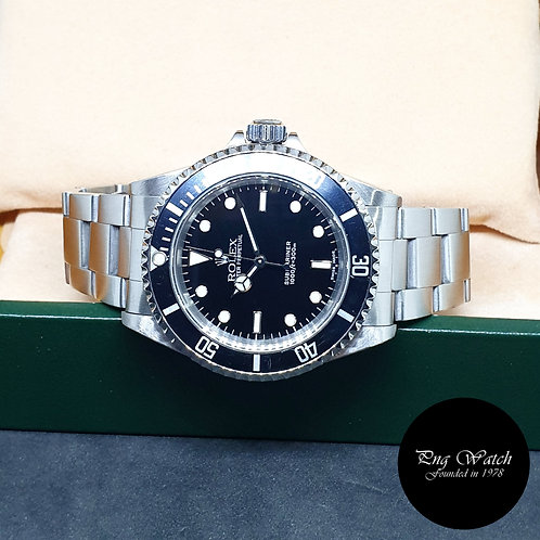 Rolex Oyster Perpetual No Date Black Submariner REF: 14060M