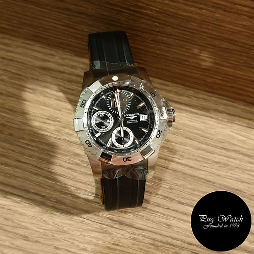 Longines 41mm Hydroconquest Chronograph Watch REF:  36514562 (2)