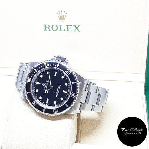 Rolex Oyster Perpetual No Date Black Submariner REF: 14060 (P Series)