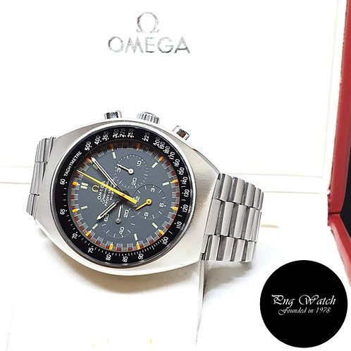 Vintage Omega Grey Mark 2 Speedmaster Chronograph REF: 145.014