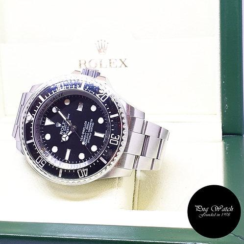 "Rolex Oyster Perpetual Black Sea Dweller ""DEEPSEA"" REF: 116660 (2011)"