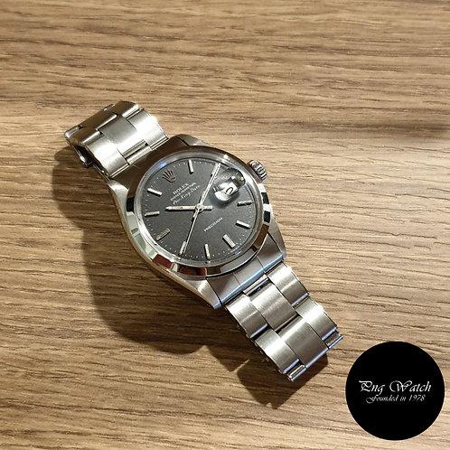 Rolex Oyster Perpetual Matte Black Air-King Date REF: 5700 (2)
