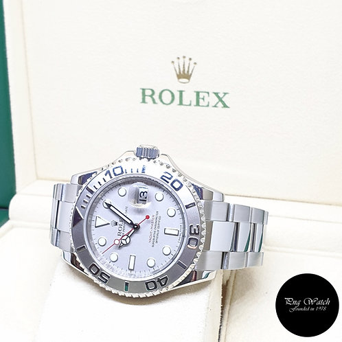 Rolex Oyster Perpetual  40mm Platinum Yachtmaster REF: 16622 (2009)