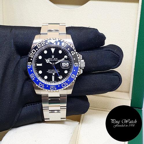 "Rolex Oyster Perpetual Ceramic Black GMT Master 2  ""BATMAN"" REF: 116710BLNR (2)"