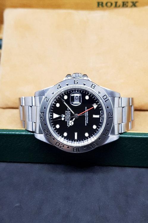 Rolex Oyster Perpetual Tritium Dial Black Explorer 2 REF: 16570