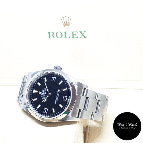 Rolex Oyster Perpetual 36mm Black Explorer One REF: 114270 (F Series)