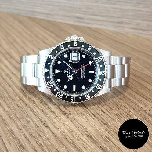 Rolex Oyster Perpetual Black GMT Master 2 REF: 16710 (2)