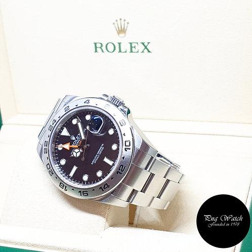 Rolex Oyster Perpetual 42mm Black Explorer 2 REF: 216570 (AN Series)