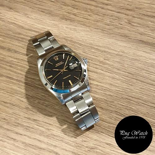 Rolex Matte Black Oysterdate Precision REF: 6694 (2)