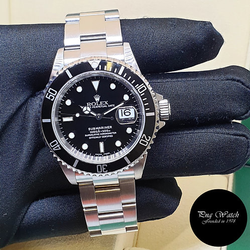 Rolex Oyster Perpetual 40mm Steel Submariner Date REF: 16610 (2)