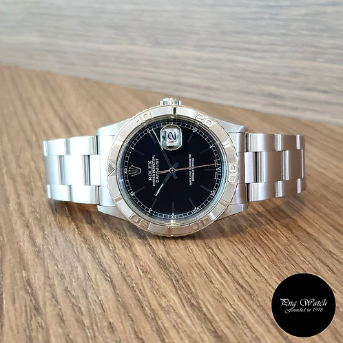 "Rolex Oyster Perpetual Black ""TOG"" Datejust REF: 16264 (2)"