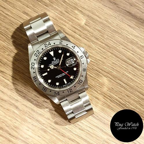 Rolex Oyster Perpetual Tritium Black Explorer 2 REF: 16570 (2)