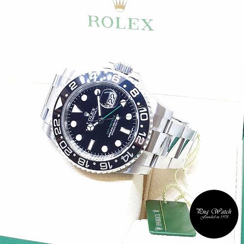 Rolex Oyster Perpetual Black Ceramic GMT Master 2 REF: 116710LN (2012)