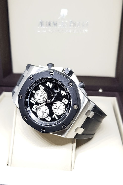 Audemars Piguet Black Rubberclad REF: 25940SK