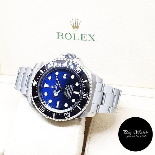 "Rolex Oyster Perpetual 44mm Sea Dweller ""DEEPSEA"" Blue REF: 116660 (2015)"