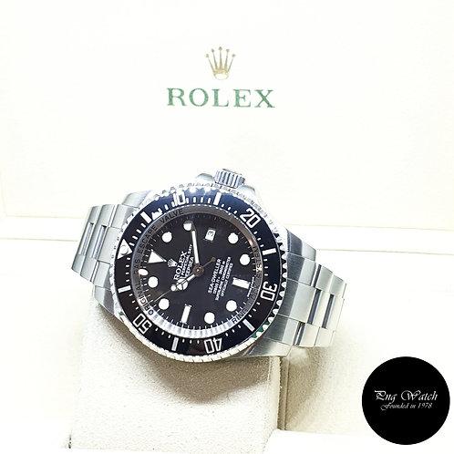 "Rolex Oyster Perpetual Ceramic Black Sea Dweller ""DEEPSEA"" REF: 116660 (2011)"