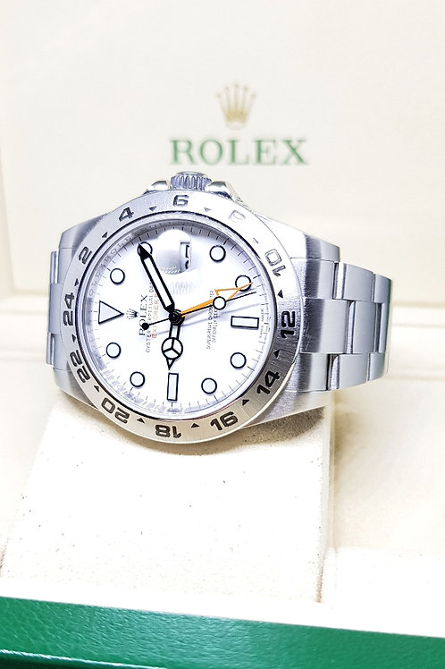 Rolex Explorer 2 White REF: 216570