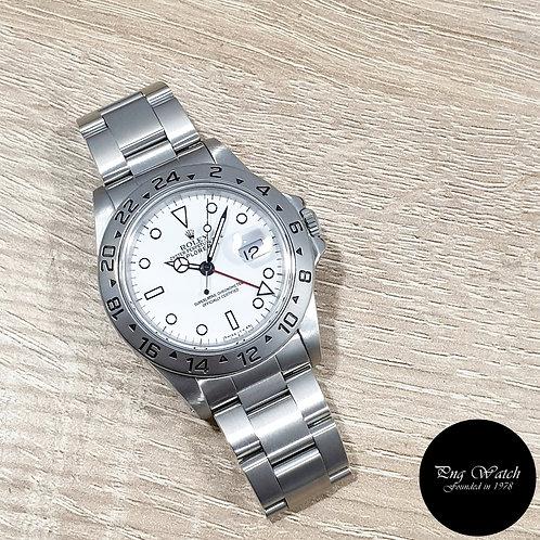 """Rolex Oyster Perpetual Tritium White """"POLAR"""" Explorer 2 REF: 16570 (2)"""