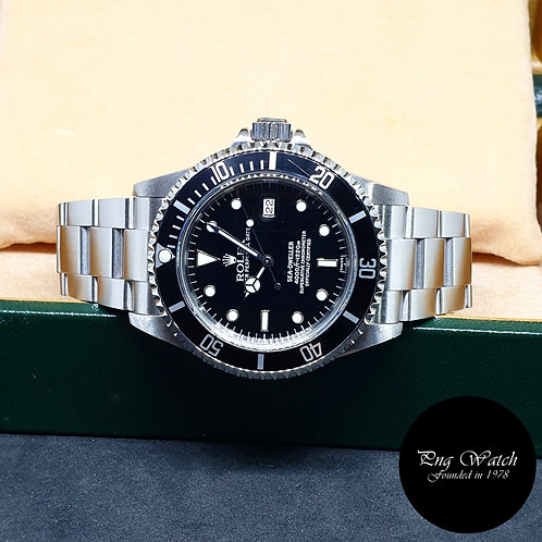 Rolex Oyster Perpetual Date 'Swiss Dial' Black Sea Dweller REF: 16600