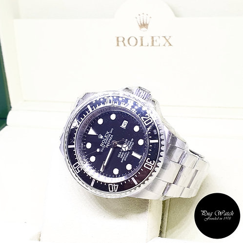 "Rolex Oyster Perpetual Black Sea Dweller ""DEEPSEA"" REF: 116660 (G Series)"