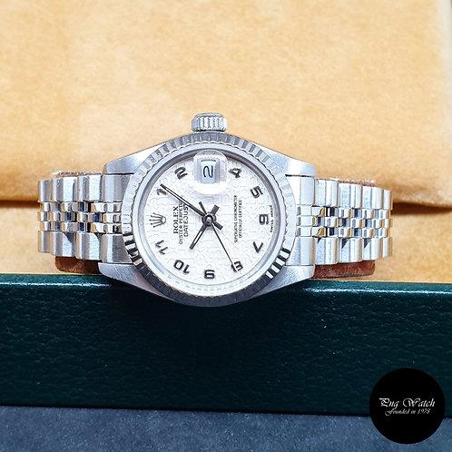 Rolex Oyster Perpetual Ladies Arabic Datejust REF: 69174