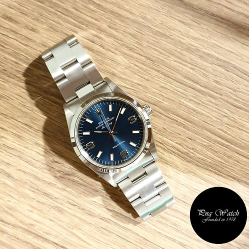 Rolex Oyster Perpetual 34mm Tritium Blue Air-King REF: 14000 (2)