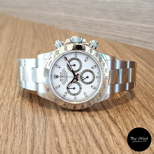 Rolex Oyster Perpetual White Cosmograph Daytona REF: 116520 (2)