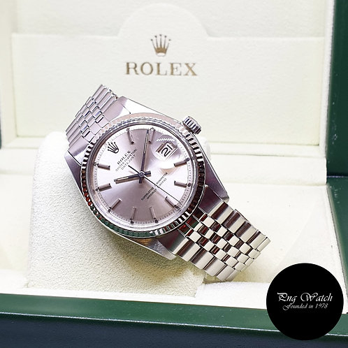Rolex Oyster Perpetual Tritium Silver Indexes Datejust REF: 1601