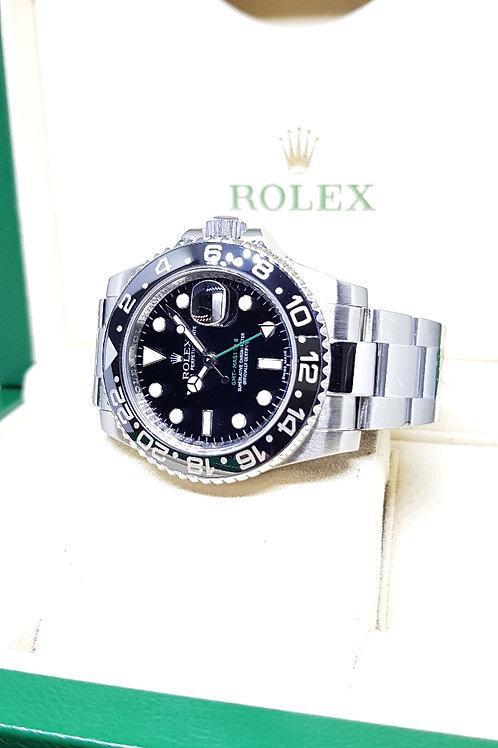 Rolex Ceramic Black GMT Master 2 REF: 116710LN
