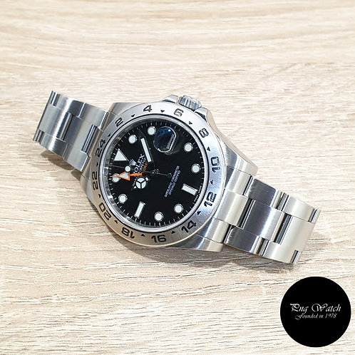 Rolex Oyster Perpetual 42mm Black Explorer 2 REF: 216570 (AN)(2)
