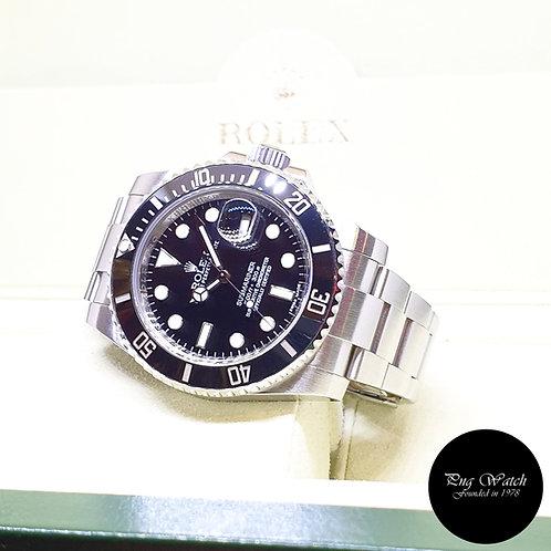 Rolex Oyster Perpetual Ceramic Date Black Submariner REF: 116610LN (AN Series)