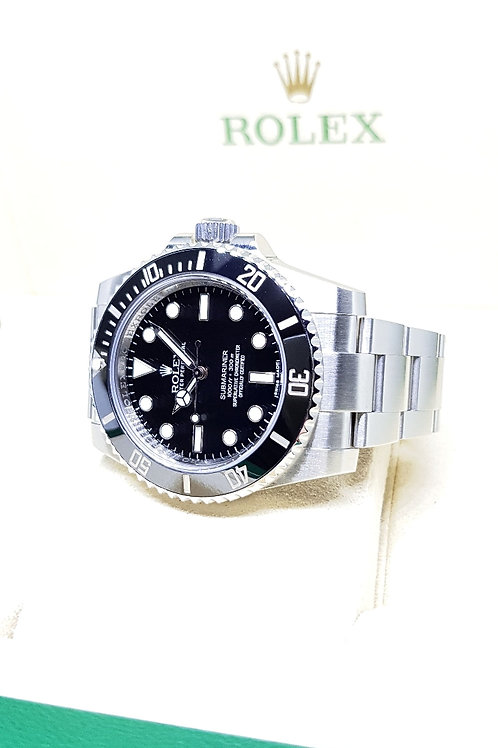 Rolex Oyster Perpetual Ceramic Submariner No Date REF: 114060