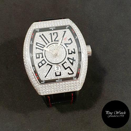 Franck Muller Vanguard Custom Pavè Diamonds Set REF: V45 SC DT (2)